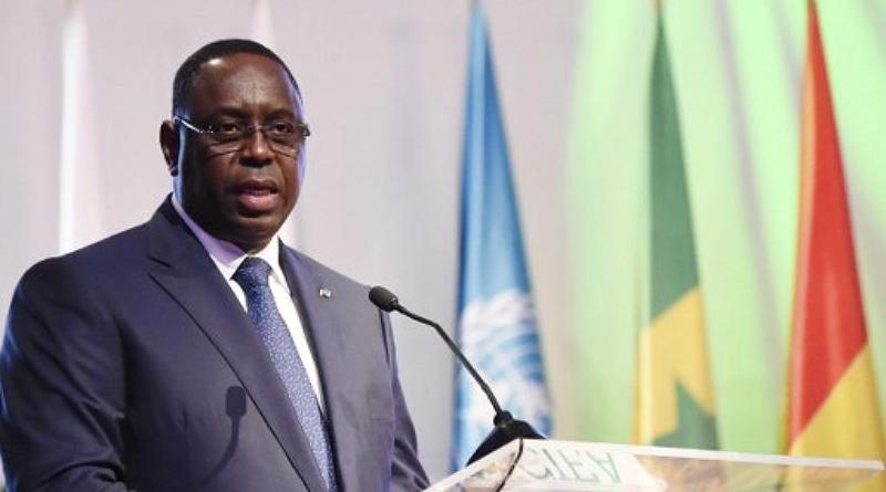 Président Macky Sall en marge de la 68ème session du Comité régional de l'OMS.