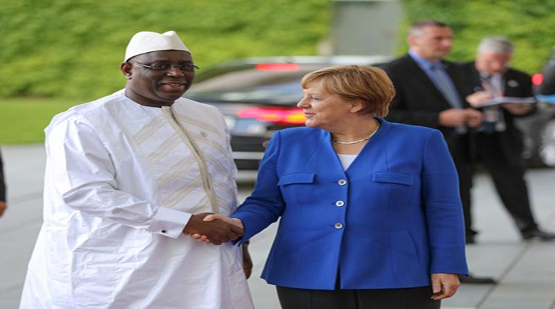 Angela Merkel à Dakar aujourd'hui, pour une visite de 48 heures (officiel)