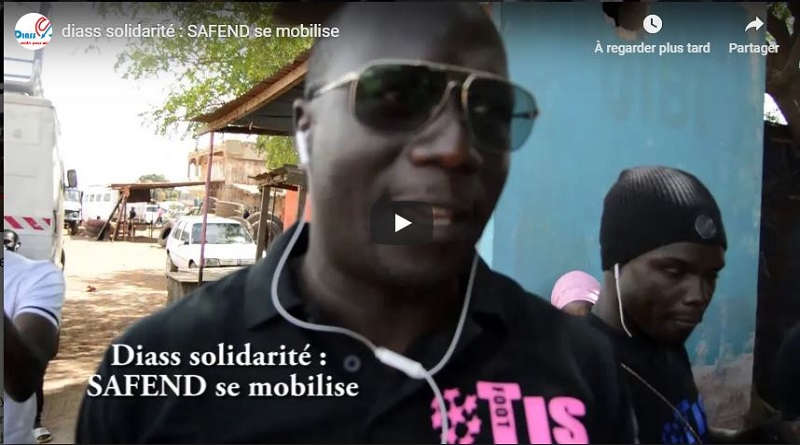 DIASS solidarité : SAFEND se mobilise
