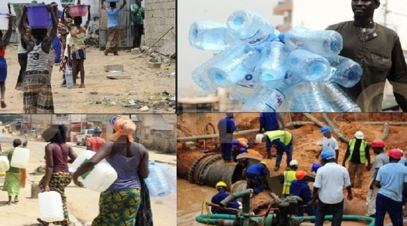 Perturbation baisse de pression et manque d'eau a partir du mercredi 24 février- la SDE et la sones informent les populations