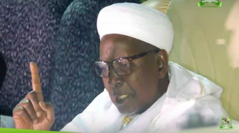 (Vidéo) Ziarra Baba 2019 : Les Conseils du Cheikh aux jeunes de la faydatidianiya  » Naniou délou si Yallah  »
