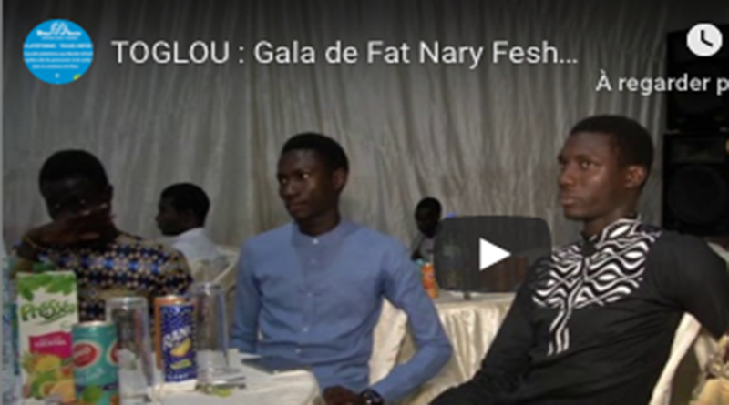 DIASS/TOGLOU : Gala de Fat Nary Feshion Family, pour sargal Djiby Ciss president groupe solution.