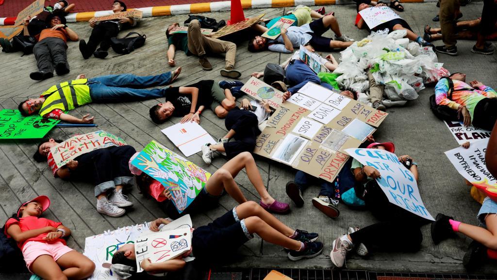 La jeunesse mondiale se mobilise pour le climat