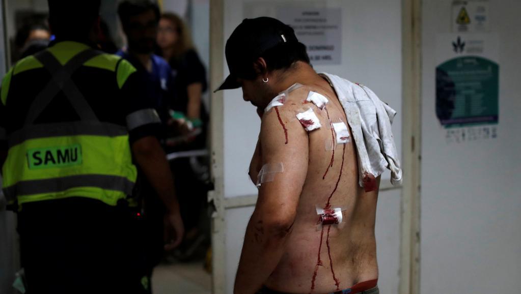 Chili: plus de 2500 manifestants blessés depuis le début de la contestation