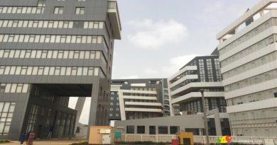 Diamniadio : Certains bâtiments des sphères ministérielles récemment réceptionnées en proie aux premières fissures
