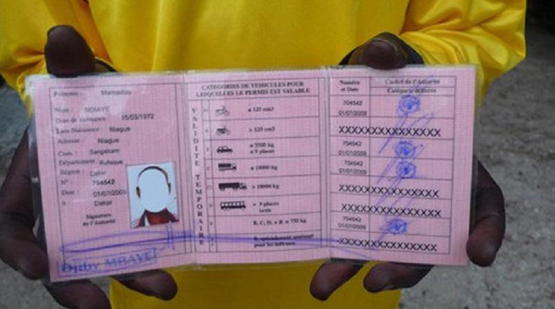 Circulation à Dakar: les anciens permis de conduire ne seront plus valables à Dakar, à partir de demain minuit