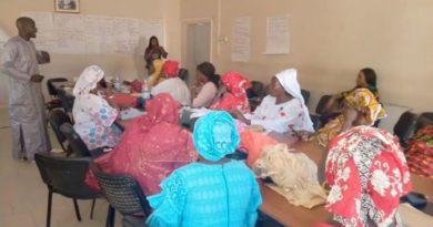 Le COSEF arme les femmes de la commune  de DIASS.