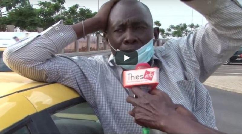 Coronavirus: Annonce du cas N°1 au Senegal. Réactions de Taximans à l'AIBD
