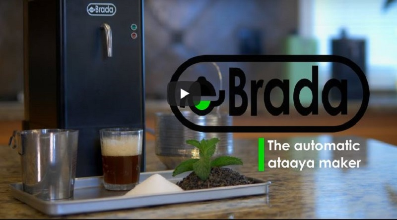 eBrada : un sénégalais invente une machine à thé ( Ataaya)