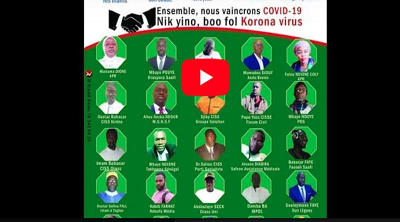 COVID-19 DIASS : Face a la riposte contre le coronavirus la solidarité s'organise.