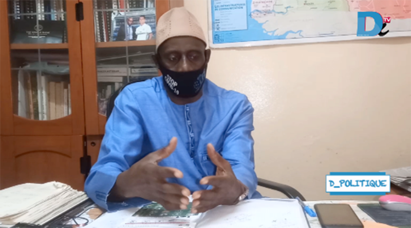 EMISSION : D-POLITIQUE N°1 / COVID 19 DIASS : Fol Korona Souleymane faye se livre.