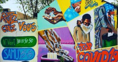 Au Sénégal, on graffe contre le coronavirus