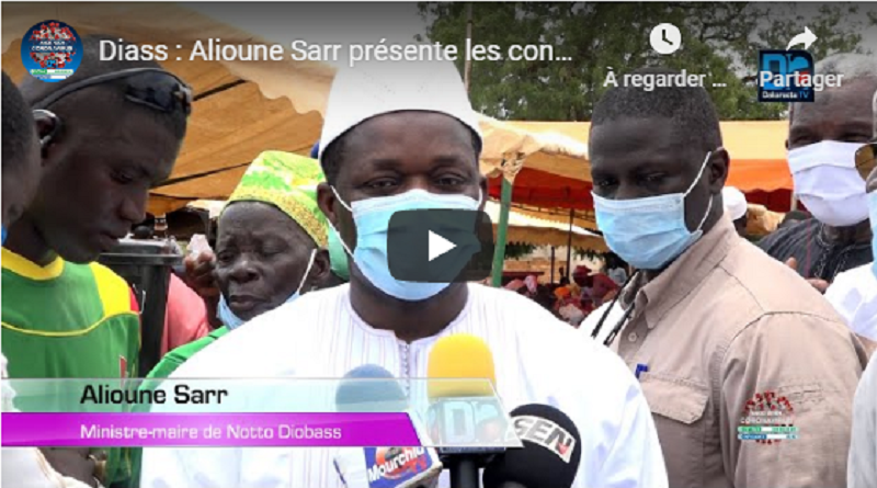 Le maire de Diass : «Aliou Samba Ciss était un modèle de loyauté et de fidélité» (Ministre Alioune Sarr).