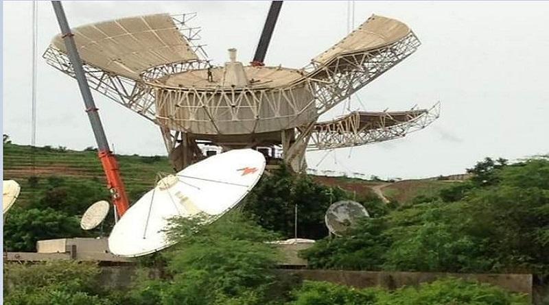 Station terrienne de Gandoul : futur musée des télécommunications ( Sonatel)