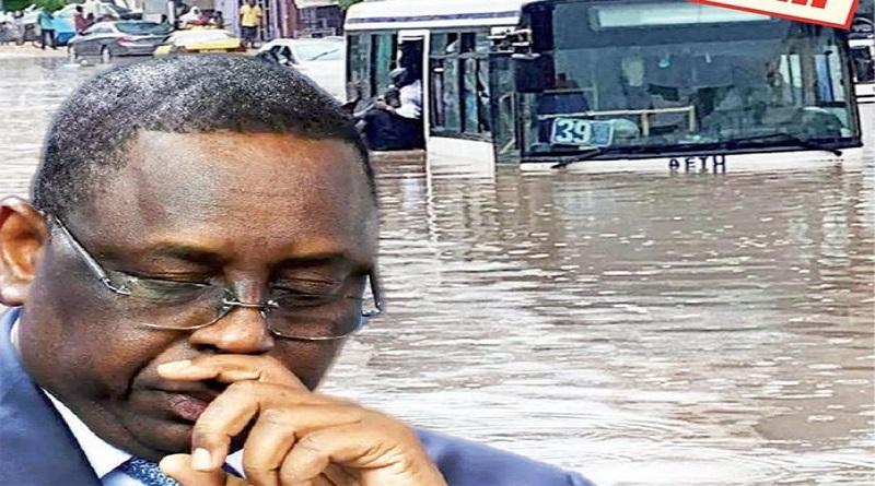 inondations: Un rapport de 344 pages remis au Président Macky Sall