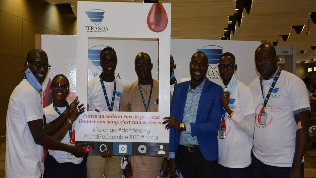TSA organise sa première édition de don de sang à l'aéroport Dakar Blaise Diagne
