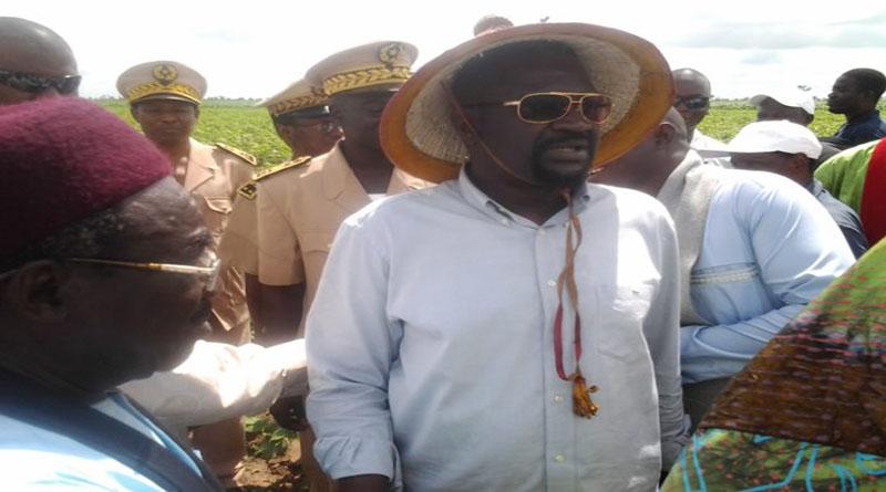 Tambacounda: Tournée du ministre Papa Abdoulaye Seck dans les perimettres agricoles de Koumpentoum et de Gouloumbou