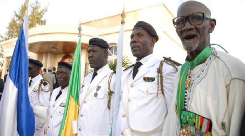 225 mille FCFA, c'est la pension versée aux anciens combattants selon cap. Ngor Sarr.