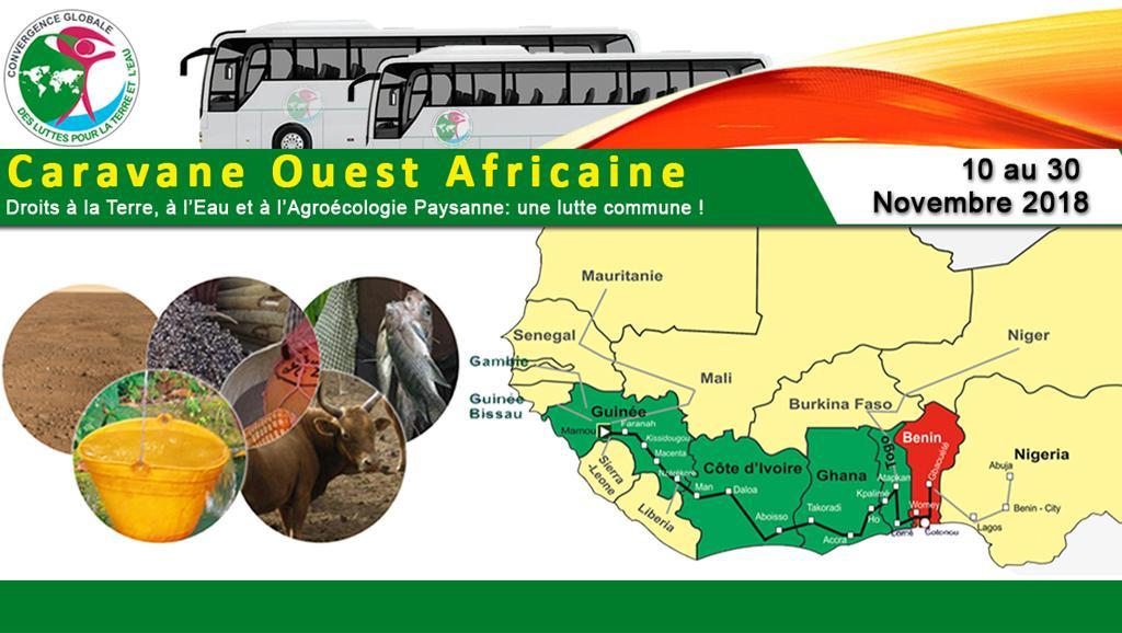 Campagne de sensibilisation contre l'accaparement des terres en Afrique de l'Ouest