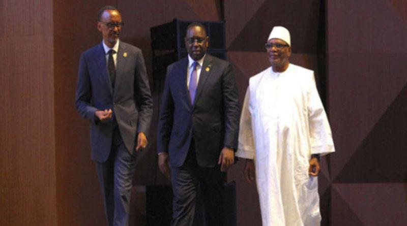 Sénégal : Kagame et IBK à l'ouverture du Forum de Dakar sur la sécurité